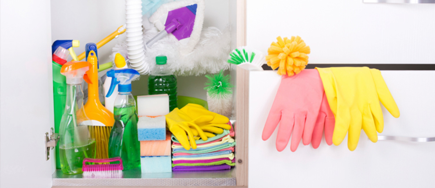 How to Organize Your Cleaning Closet